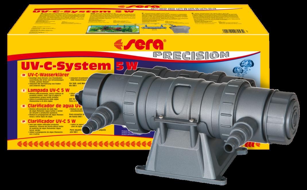 Sera UV-C-systeem 5 W (UV-C-waterzuiveringsapparaat)  5 W