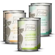 MjAMjAM Mixpaket I Pollo e Anatra, Manzo, Tacchino 6x400 g