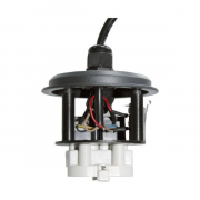Fixture for UV-C-System 24W Musta