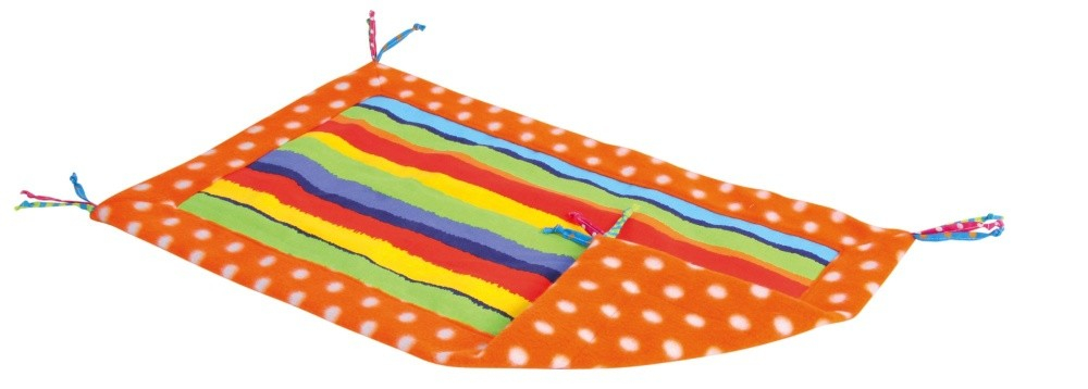 Trixie Play Mat with Tassels  Färgrikedom 55x37  cm
