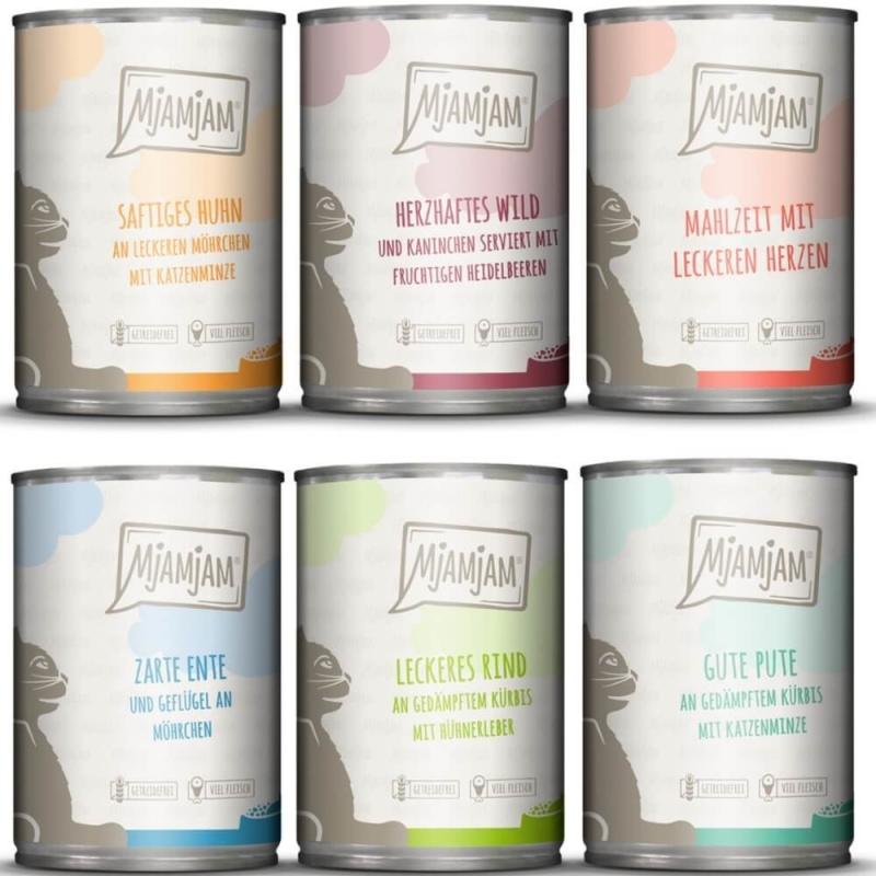 MjAMjAM Mix package III 6x800 g, 6x400 g, 6x200 g
