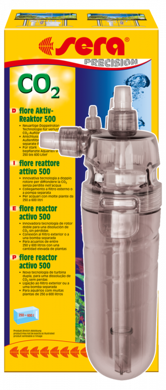 Sera Flore CO2 Actieve-Reactor 500  500 B. CO2/min
