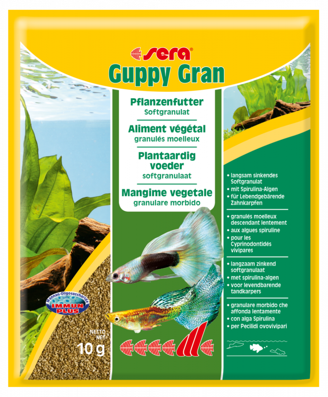 Sera Guppy Gran 10 g, 120 g, 48 g