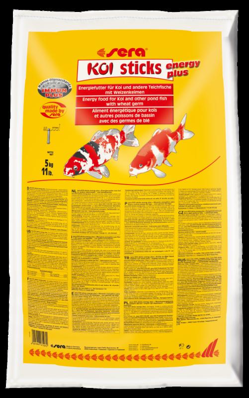 Sera KOI Sticks Energy Plus 5 kg  met korting aantrekkelijk en goedkoop kopen