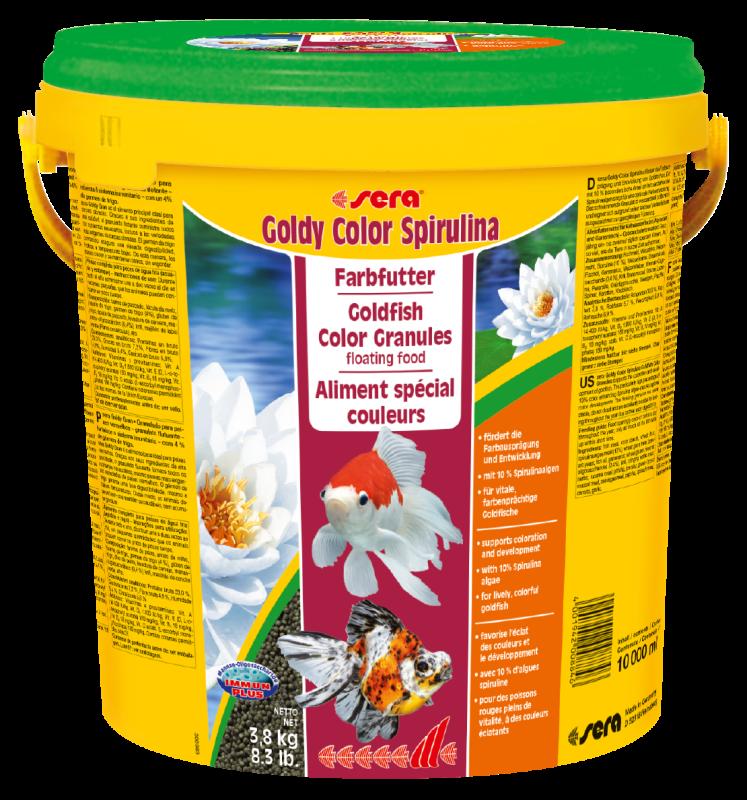 Sera Goldy Color Spirulina 3.8 kg 4001942008846