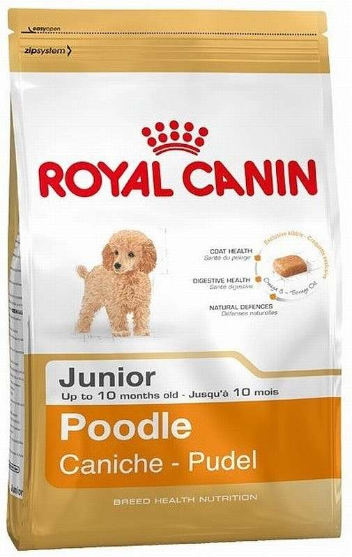 Royal Canin Breed Health Nutrition - Poodle Junior 3 kg, 500 g