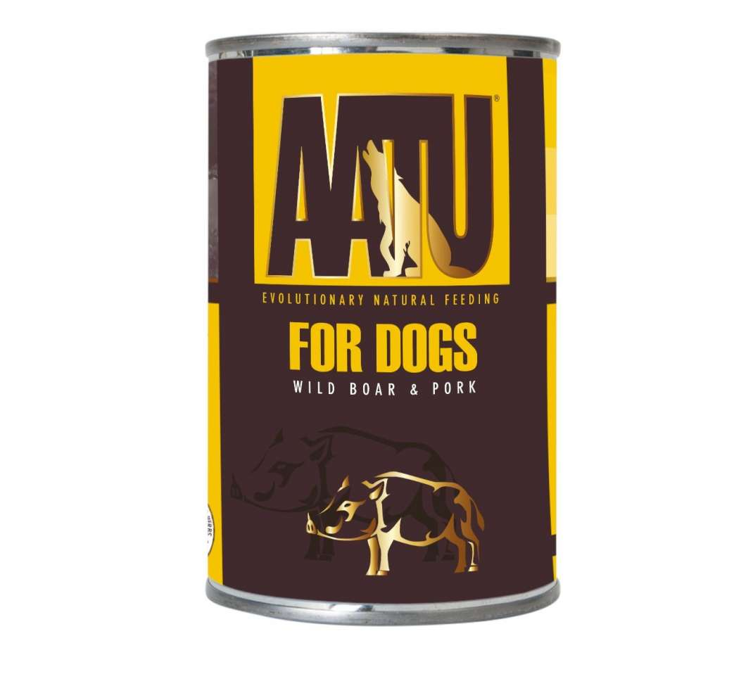 AATU For Dogs - Javali & Porco 400 g