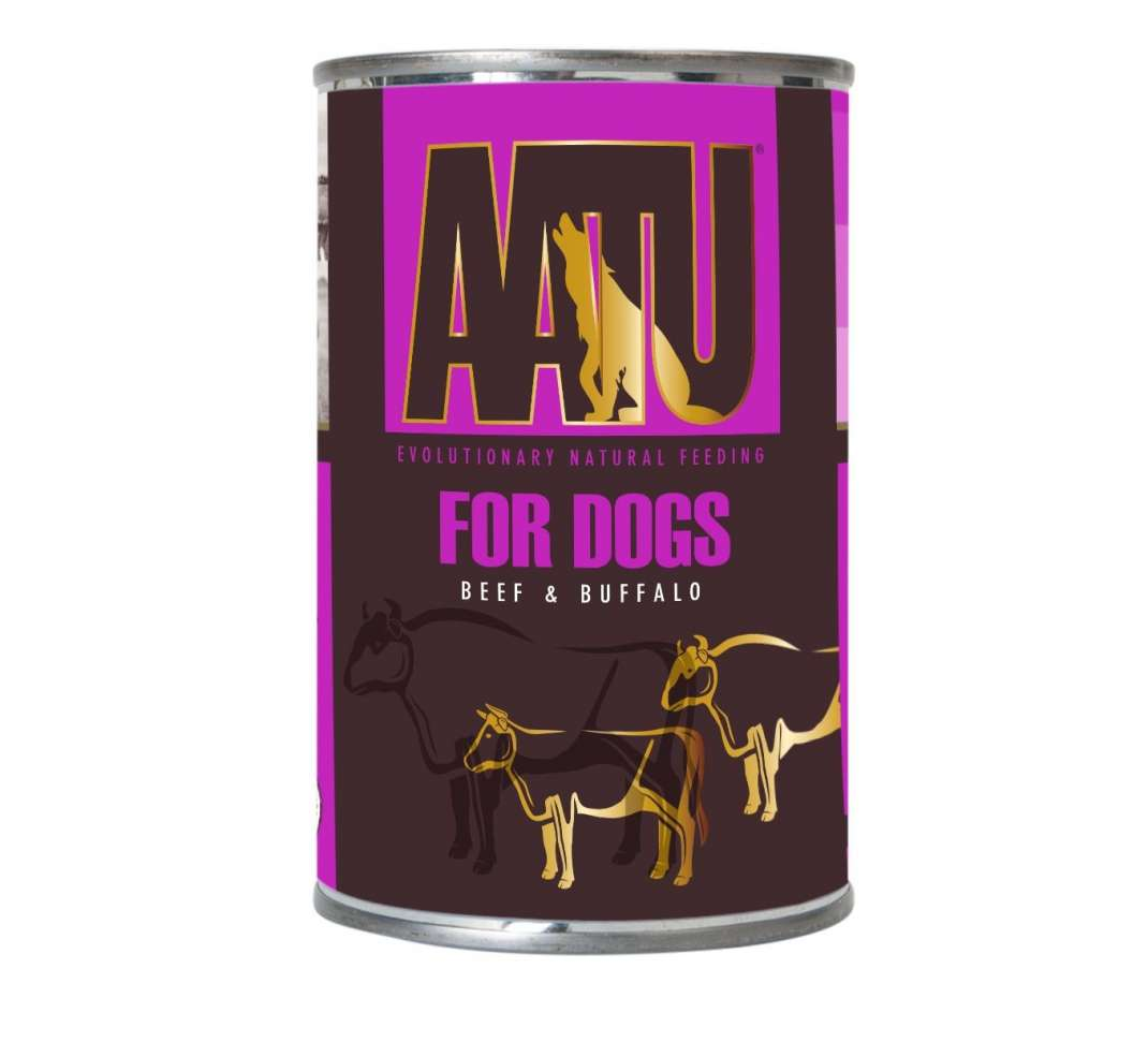 Wet & Canned food For Dogs - Beef & Buffalo 400g by AATU Buy fair and favorable with a discount