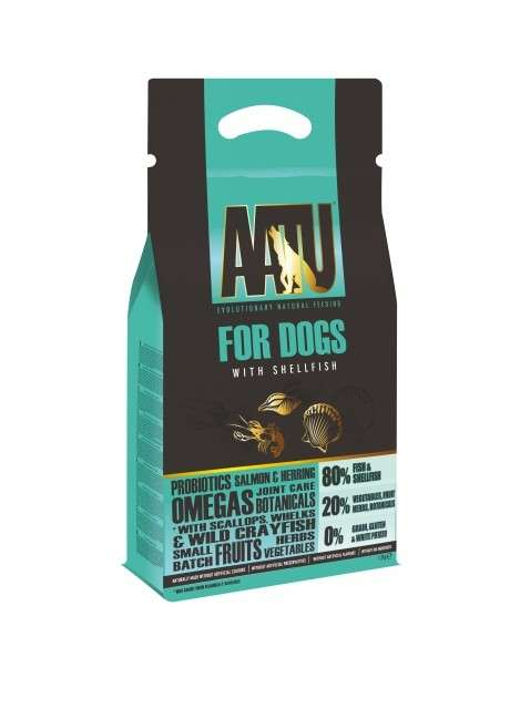 AATU For Dogs - Shellfish 10 kg, 5 kg, 1.5 kg