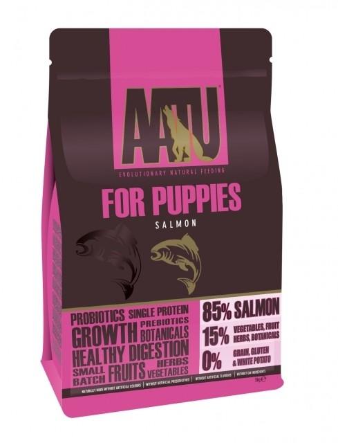AATU For Puppys - 85/15 Salmão 1.5 kg, 5 kg