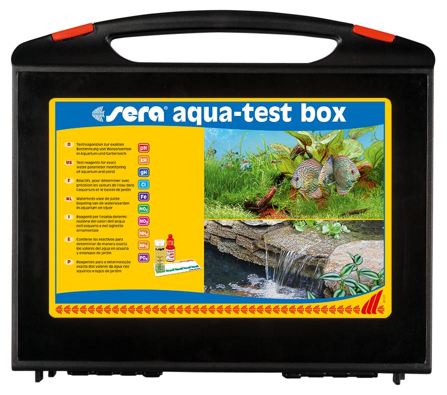 Sera Aqua-Test Box (Cl)   met korting aantrekkelijk en goedkoop kopen
