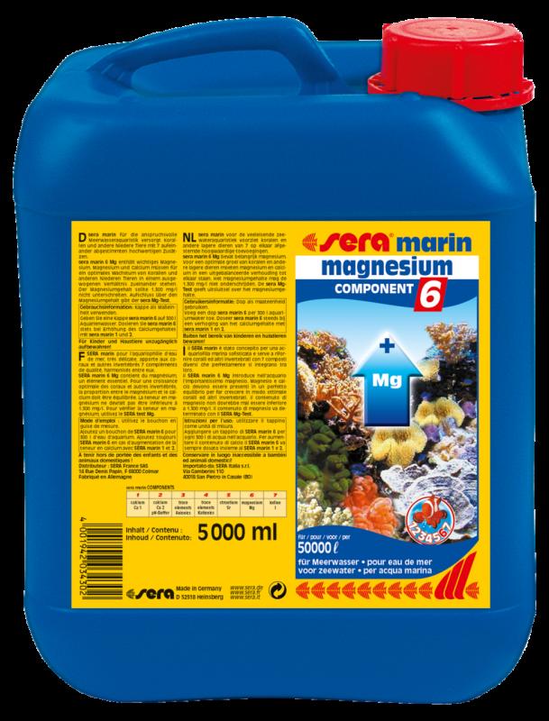 Sera Marin Component 6 Magnesium  5 l