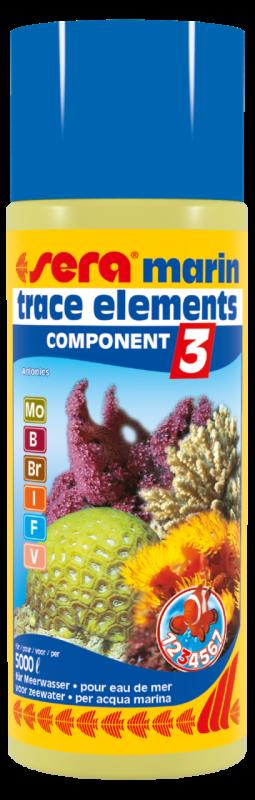 Sera Marin Component - 3 Trace Elements Anionics  500 ml