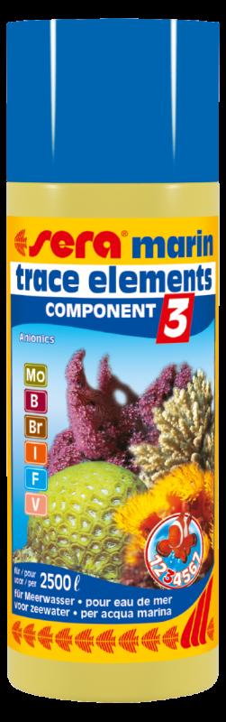 Sera Marin Component - 3 Trace Elements Anionics 250 ml  met korting aantrekkelijk en goedkoop kopen