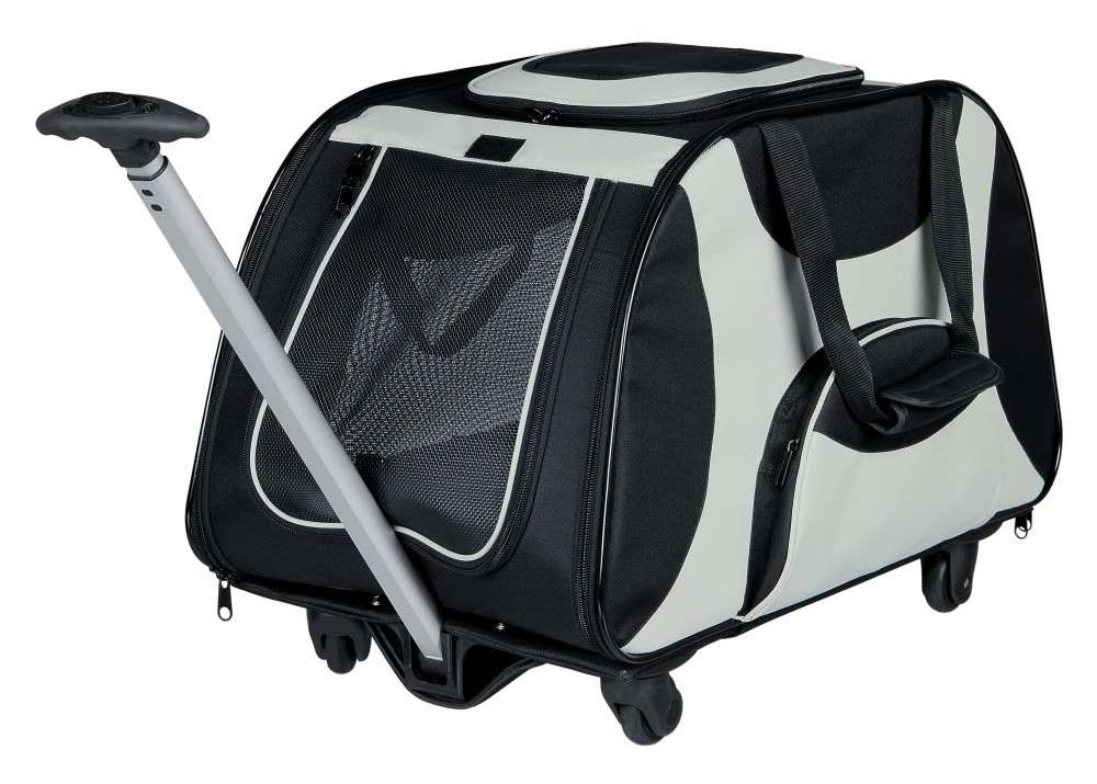 Carrier Bags Trolley Black / Grey 34x43x67 cm  by Trixie Buy fair and favorable with a discount
