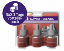 Friends Refill 3x30 days Economy Pack 3x48 ml
