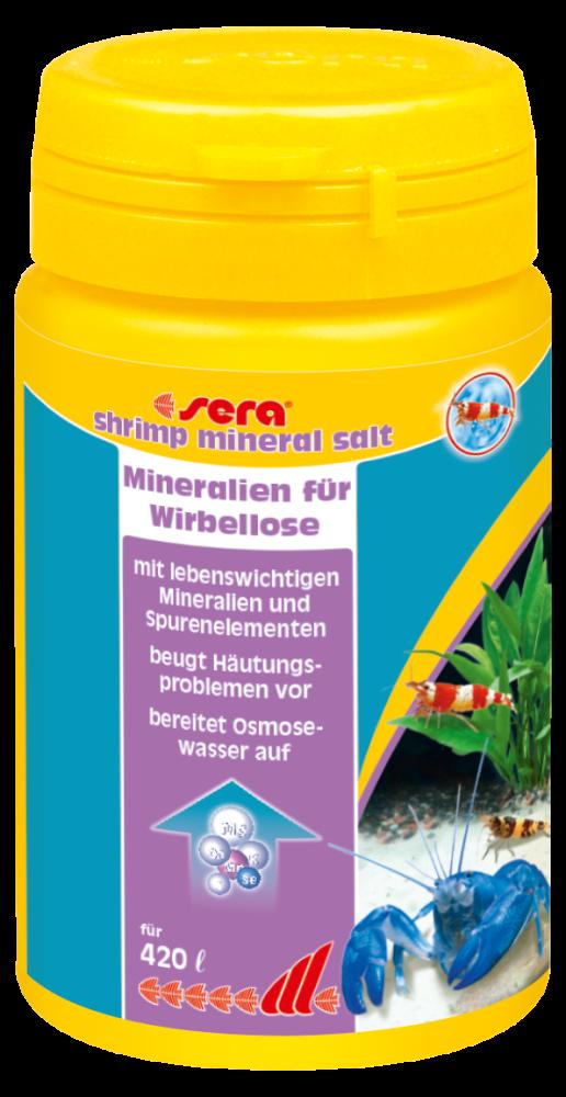 Sera Shrimp Mineral Salt 105 g  met korting aantrekkelijk en goedkoop kopen