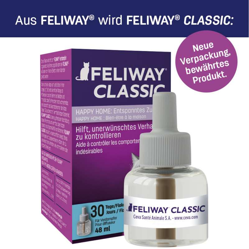 Feliway Classic Recharges, 3x30 jours  3x48 ml