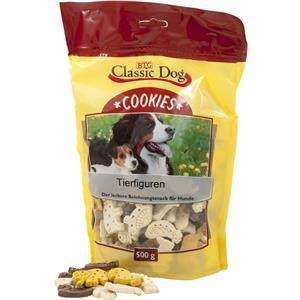 Classic Dog Snack Cookies Figuras de Animales 500 g 4260104076387 opiniones