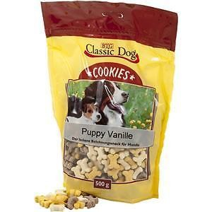 Classic Dog Galletas Puppy Vanille 500 g, 10 kg