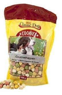 Classic Dog Snack Cookies Gourmethappen 500 g 4260104076417 opiniones