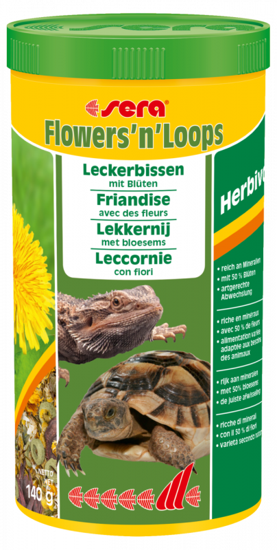 Flowers'n'Loops 140 g  von Sera bei Zoobio.at