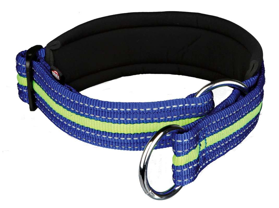 Half-Check Collars Fusion Semi-Choke, Blue/green 45–53 /3 cm  by Trixie Buy fair and favorable with a discount