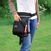 Hip Bag Black/Grey 57-138 cm från Trixie