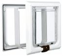 4-Way Cat Flap XL White