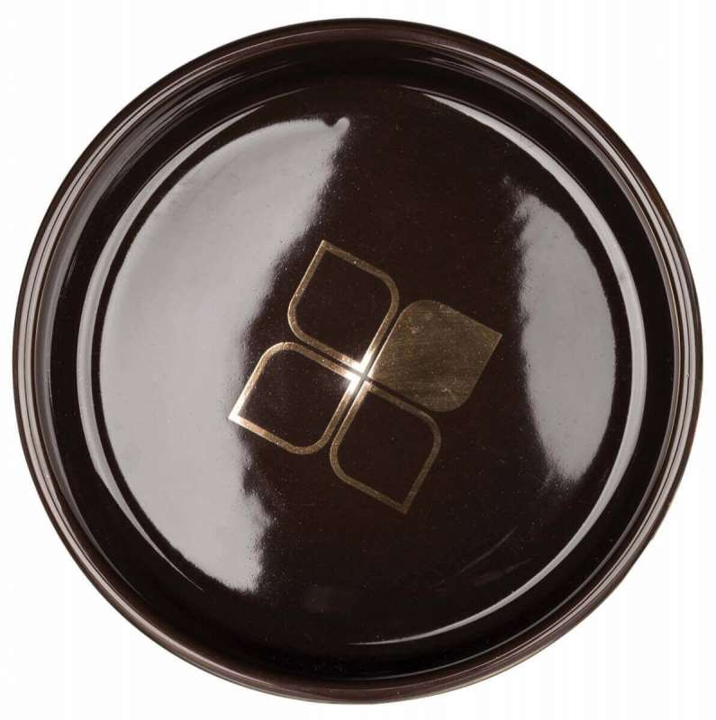 Trixie Comedero con Dibujo, bronce/marrón 400 ml Marron oscuro