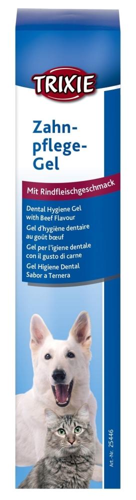 Trixie Gel de Higiene dental con Sabor a Ternera 100 g