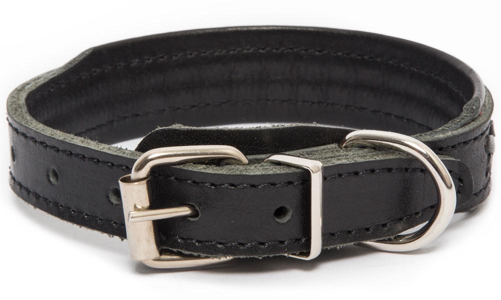 Bark&Bones Elita Collar Trenzado con Medio Ancho Negro 54-65х3.5 cm