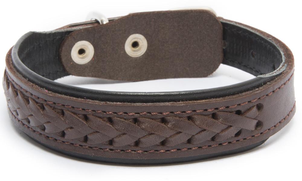 Bark&Bones Elita Collar Trenzado con Medio Ancho 54-65х3.5 cm
