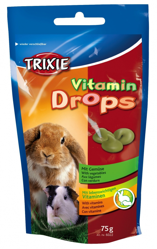 Trixie Vitaminedrops  Vegetables