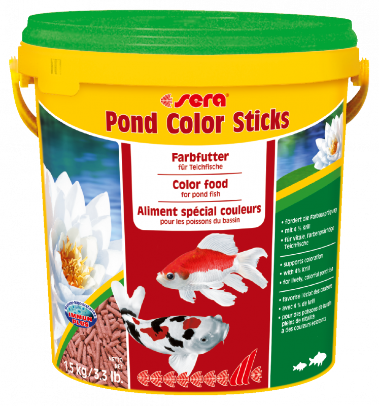 Sera Pond color sticks 1.5 kg 4001942071598