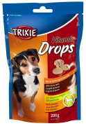 Trixie Drops Vitaminados con Bacon 200 g