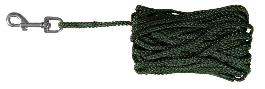 Trixie Laisse à Pister Vert 10m / ø5mm