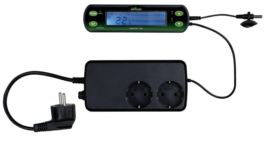Thermostat, Digital, mit Zwei Schaltkreisen 16×4 cm  von Trixie online günstig kaufen