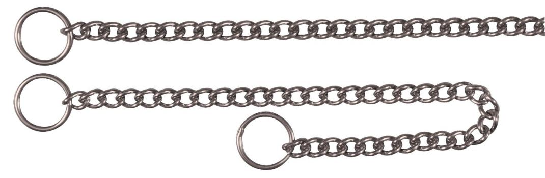 Colar de Treinamento Aço Inox 18/10, Fileira 45x0.25 cm  da Trixie Compre a bom preço com desconto