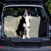 Trixie Car Boot Cover, Beige/Black  na nossa loja de animais de estimação