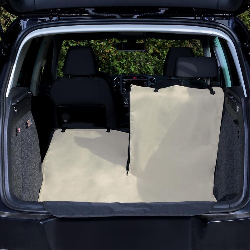 Trixie Cobertura para Tronco do Auto, bege/preto  180x130 cm
