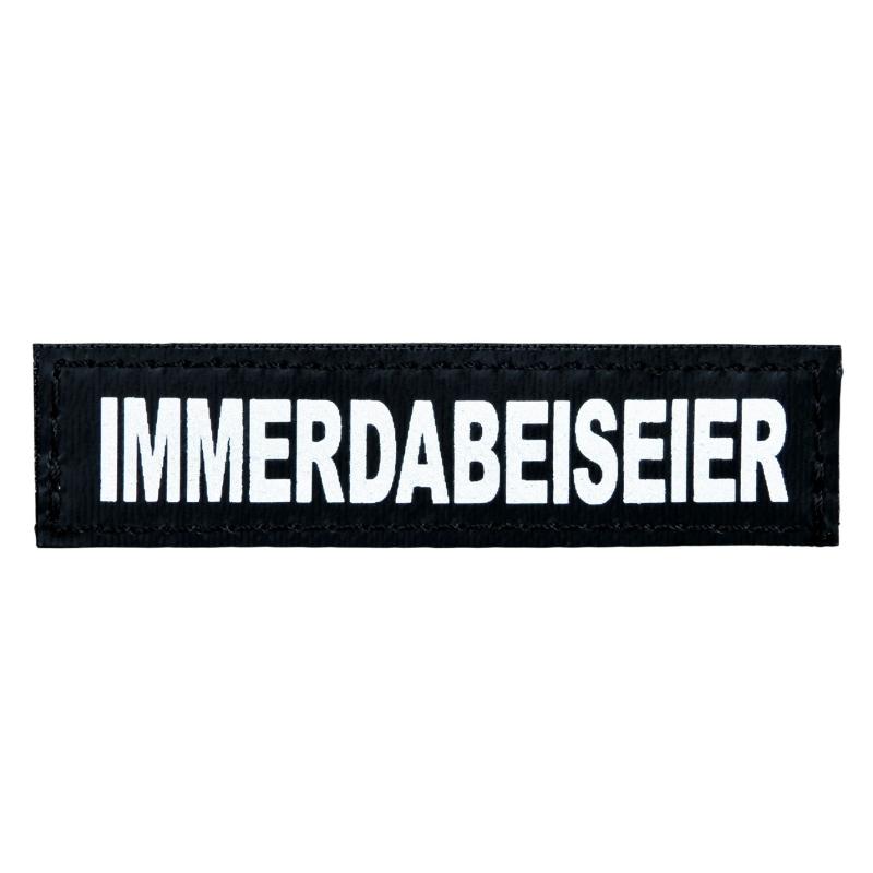 "Julius K9 Velcro Sticker ""Immerdabeiseier"" FREIZEITGESTALTER  5999053650766 anmeldelser"