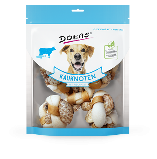 Chew Knots with Fish Skin from Dokas 250 g buy online