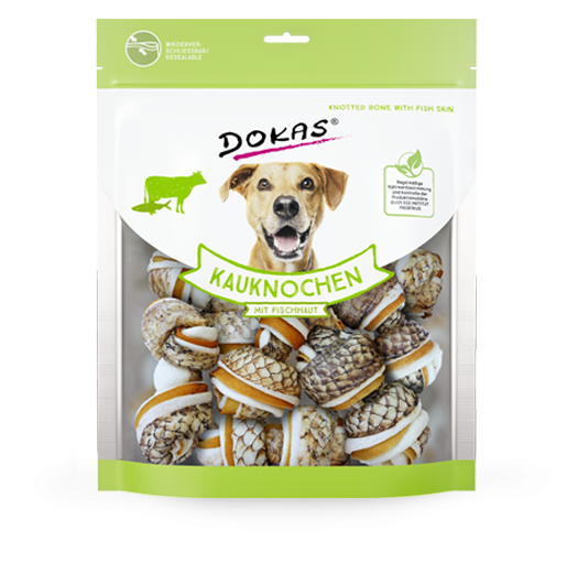 Knotted Bones with Fish Skin from Dokas 250 g buy online