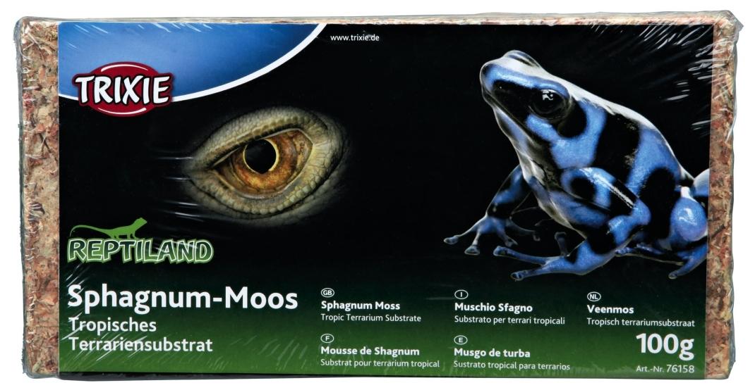 Trixie Sphagnum-Moos 100 g 4011905761589 Erfahrungsberichte