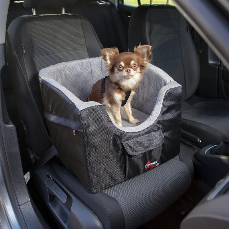 Trixie Autostoel, zwart/grijs  41x39x42 cm