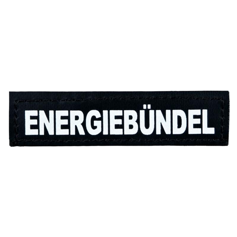 """Julius K9 Velcro Sticker """"Energiebündel""""  S ENERGIEBÜNDEL"""