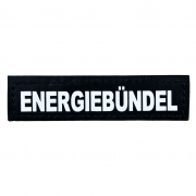 "Reflective Supplies and Blinkies for dog collars Julius K9 Velcro Sticker ""Energiebündel"" S"