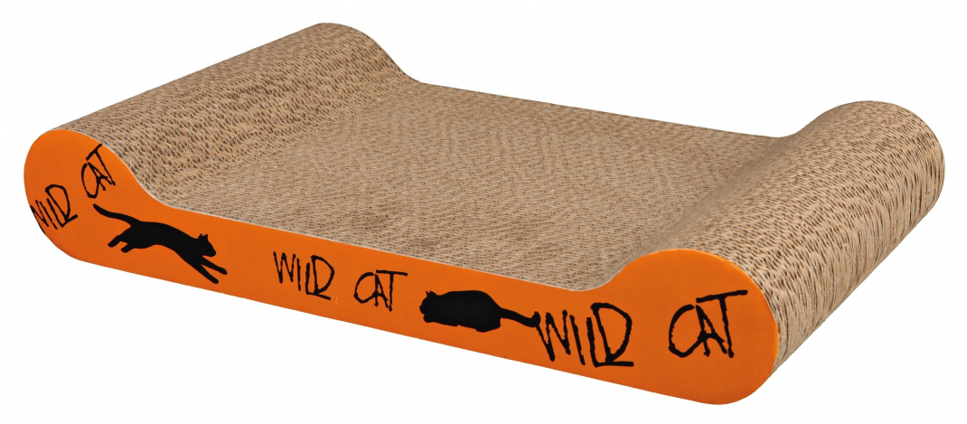 Trixie Tabla Cartón Rascadora Wild Cat Naranja 41x7x24 cm