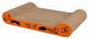 Wild Cat Scratching Cardboard Orange